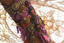Bijoux - crochet - tissus