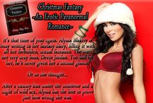 Christmas Fantasy: Bk 1 of the Fantasy Diary Series / For Alyssa, he needed to always be on his best human behavior. But keeping the animal within him caged in was becoming harder to do. #VampireProblems #Erotic #TeamDevin #Paranormal  http://tinyurl.com/oapcjqm