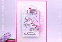 Cards - Reverse Confetti
