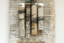 Mixed Media-Collage / by Nancy Dare