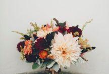Wedding dinner florals