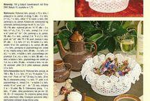 Wielkanoc- koszyczki, szydelko
