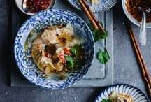 Chinese food styling