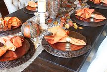 Table settings / by Brittany Howell