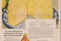 Vintage Recipes / Old-fashioned favorites for a taste of nostalgia.