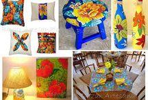 CHITA,JUTA, artesanato,ALGODÃO CRU, jogo americano, decoração