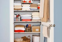 Organize It! LINEN CLOSET / by Andi Willis, Professional Organizer