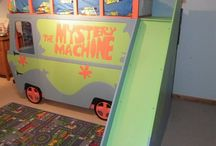 Scooby doo kids room / by Sarah Nelson