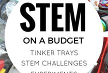 STEM and Tinker Trays