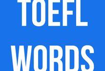 ΤΟEFL vocab and grammar