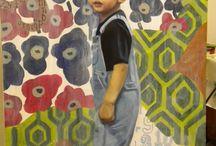My paintings / Ritratti, Riproduzioni artistiche , Creazioni proprie