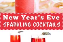 New Years Eve / New Years Eve celebration recipes, crafts and ideas! #recipes #NYE #party #crafts #DIY #food