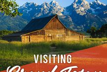 Horseback riding vacations / Guided horseback rides through valleys, creeks, pastures and mountain ridges -- with the Grand Teton mountain range always in view.