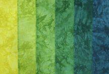 hand dyed/hand woven fabrics / Specialty fabrics