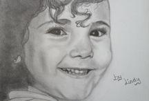 My drawings. / Mijn tekeningen