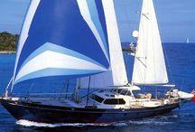 "Sailing Yacht Aurastel / 89 Don Brooke Sailing Yacht ""AURASTEL"" is a world cruising boat."