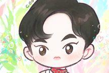 EXO Ko Ko Bop Fan Art / Cr. Cookie