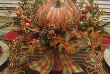Fall and Autumn / As the days get shorter and temperatures start to dip lower, it's time to bring warmth back into the home with decorations and colors that celebrate this season.