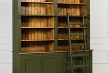 книжный шкаф - библиотека
