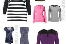 Nursing and Breastfeeding Clothing Outfits / Ideas and outfits for nursing and Breastfeeding fashion for new moms