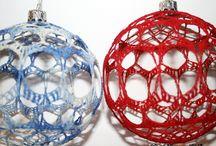 szydełkowe ozdoby świąteczne