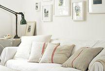 Fehér nappali -White living room
