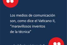 Internet y Evangelización - ES / En esta carpeta encontrarás semanalmente imágenes con citas importantes con relación al uso de internet y la evangelización.