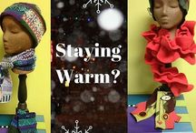 Staying Warm? / These are some wonderful handcrafted products to keep you warm in the winter.