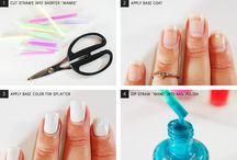 D.I.Y nails