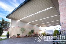 Carports / Unique carport ideas by Spanline Australia. We've been custom designing outdoor spaces for over 30 years. Our design flexibility gives you endless options to create a carport or shelter of any length, height, width or style.