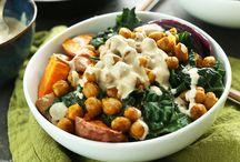 hearty salads / grain bowls