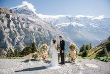 Liwen & Jason - Stunning elopement in the Swiss Alps