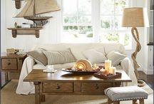 Going Coastal / Coastal-Inspired Upholstery & Decor