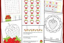strawberry theme