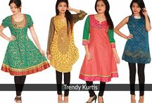 Kurtis by Solty / Blend some tradition into your ever western wardrobe with the most unique and style high kurtis made for you by Solty.