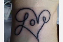 tattoos / by Chrissy Bradford