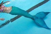 Mermaid tail。゜