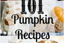 Fall & Pumpkin Recipes