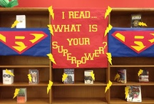"""SRP 2015 / Children's theme is """"Every Hero has a Story"""" and relates to possible decoration and craft ideas."""