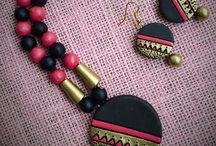 terracota jewellary