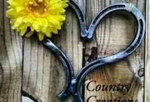 Horse shoe ideas / by Rhonda Stephenson