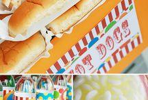 birthday party ideas / by Kimberly Royston