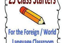 le cours de français: activités
