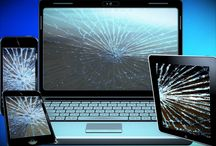 Broken Laptop Screen Repair / A broken screen makes a laptop inoperable in many cases. Sometimes the problem is minor and is mainly an inconvenience or blemish, but other times the screen may be completely out of commission.