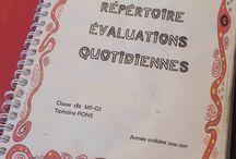 évaluation maternelle