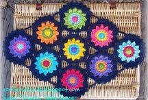 Crochet Circle Motifs / by Linda