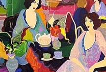 Art: Itzchak Tarkay and Isaac Maimon / Let's take a look at two of my favorite painters: Itzchak Tarkay and Isaac Maimon. Although their paintings look very similar, they are different...