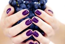 nails and fruit