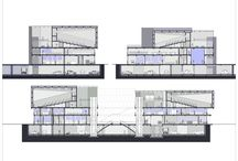 first photoshop / architecture sections cinema draw