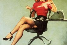 pin ups! / Pin up girls are the sexiest women..